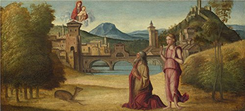 Oil Painting 'Italian Venetian Augustus And The Sibyl', 30 x 66 inch / 76 x 169 cm , on High Definition HD canvas prints is for Gifts And Bath Room, Game Room And Powder Room Decoration (West End Griddle compare prices)