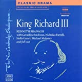 William Shakespeare King Richard III Audio CD Set (3 CDs) (New Cambridge Shakespeare Audio)