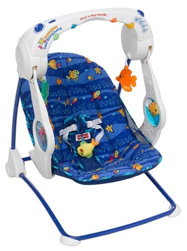 Review Fisher Price Take Along Swing