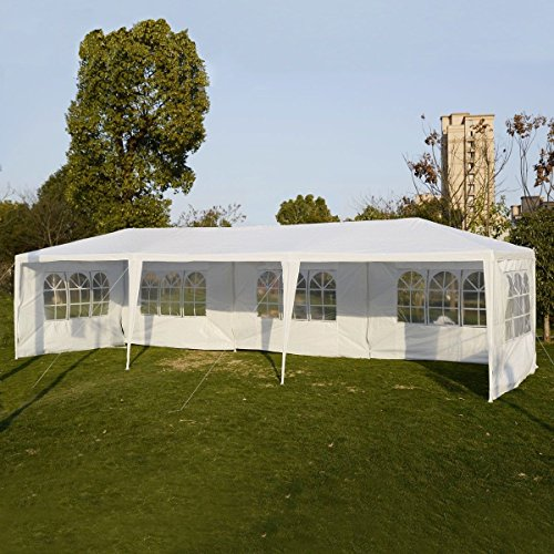 Party Outdoor Tents 10'x30' Wedding Patio Canopy Heavy Duty Gazebo Pavilion Event (Heavy Duty Flag Streamers compare prices)