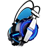 Kotion Each G7000 Cyber Cafe 7.1 Channel USB Over Ear Gaming Headphones For PC With Vibration Fixed Mic (Black...