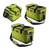 【KICHENART】高級感あふれる クーラーボックス クーラー ソフトクーラー アイスバッグ(5,15,25リットル) ピクニック 、 釣り 、 キャンプ 、 休暇 、 登山 、 ランチバッグ (15 liters)