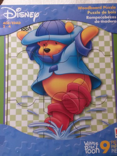 Disney Eeyore Woodboard Puzzle (9-Piece) - 1