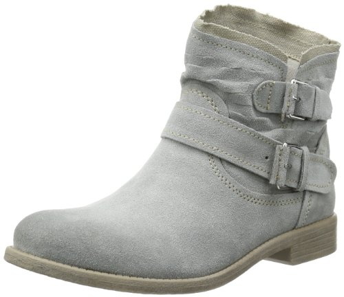 Tamaris Womens TAMARIS Desert Boots Gray Grau (LIGHT GREY 204) Size: 3 (36 EU)