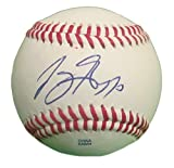 Joey Gallo Autographed / Signed ROLB Baseball, Texas Rangers, Proof Photo