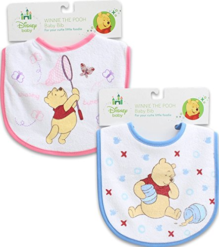 Winnie The Pooh Baby Bib Set Of 2 front-101223