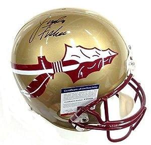 Jimbo Fischer Signed Florida State Seminoles Full Size Helmet Psa dna V75525