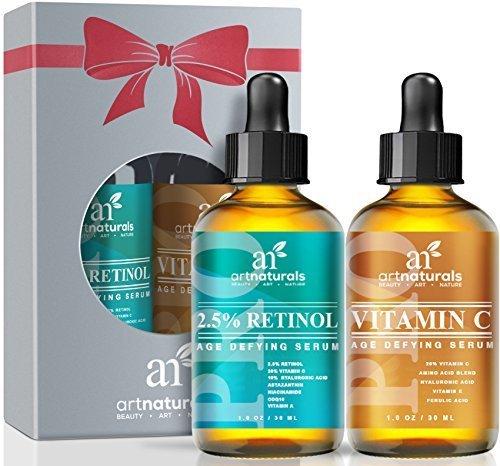 art-naturals-organic-20-vitamin-c-serum-10-oz-25-vitamin-a-retinol-serum-10-oz-holiday-gift-set-best