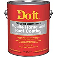 Do it Fibered Aluminum Mobile Home And Roof Coating-GL FB ALM MBL/HM COATING