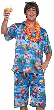 Click to buy Forum Happy Hour Adult Mens Luau Party Outfit Buffet Costume from Amazon!