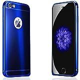 LUCKY LUXURY iPhone6s  ケース 4.7インチ アルミバンパー ロイヤルブルー光沢