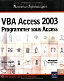 VBA Access 2003 : Programmer sous Access