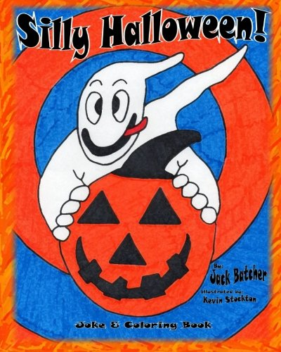 Silly Halloween!: Joke & Coloring Book (Jack Batcher compare prices)