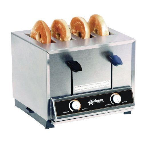 Pop Up Toaster With Oven ~ Star mfg four slot pop up bread bagel toaster w timer