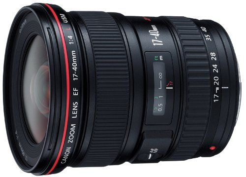 Canon EF 17-40mm/1:4,0 L USM Objektiv