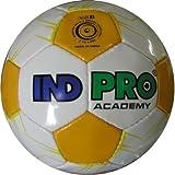 Indpro Unisex Academy Football 5 White Yellow