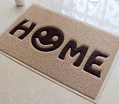"""Fasmov Home Smile Doormat Entrance Rug Floor Mats Shoe Scraper Doormat,23.6X35.4"""""""