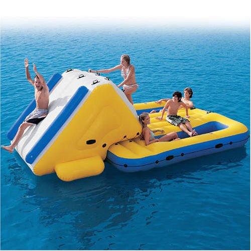 Super Water Slide N' Lounge Island