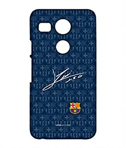 AUTOGRAPH MESSI Phone Cover for LG Nexus 5x by Block Print Company