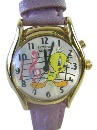 Looney Tunes Musical Tweety Bird Watch – Ladies Tweety Bird Musical Watch