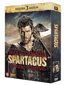 Spartacus War of the Damned - Die komplette Staffel/Season 3 [DVD] uncut, EU-Import mit Deutschem Ton!