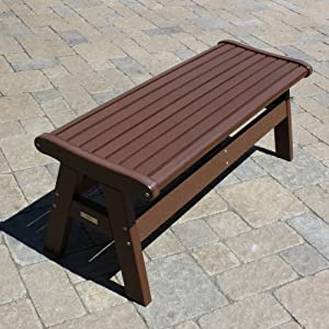 Malibu Outdoor Living Newport Backless Bench 60 inches