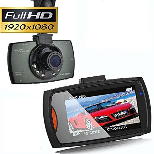 Seteda Auto Kamera Full HD 1080P Auto DVR Recorder Dashcam Blackbox 2.7 '' LCD-Crash-G-Sensor Nachtsicht