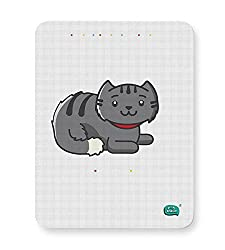 PosterGuy Mouse Pad- Being Indian Fluffy Cat | Designed By :- Being Indian