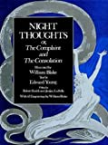 Night Thoughts: Or, the Complaint and the Consolation (0486292142) by William Blake