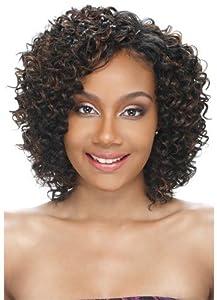BLUE DEEP 3PCS (1B Off Black) - Model Model Pose Pre-Cut Human Hair Mastermix Weave Extension