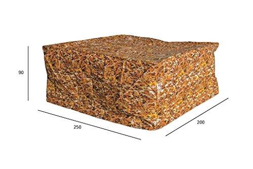 Luxus Schützhülle für Gartenmöbel-Set 240 cm , Schutzabdeckung mit einzigartigem Herbstblatt Druck, Schwerlast 220 gr/m2 online bestellen