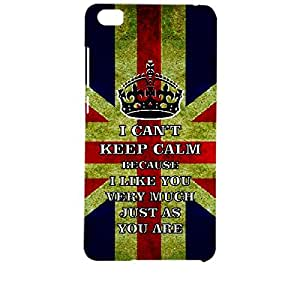 Skin4gadgets I CAN'T KEEP CALM BECAUSE I Like You Very Much Just As You Are - Colour - UK Flag Phone Designer CASE for XIAOMI REDMI NOTE PRO