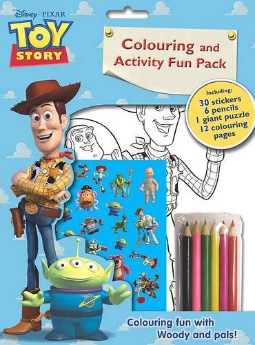 Disney Toy Story Colouring and Activity Fun Bag (Disney Fun Pack)