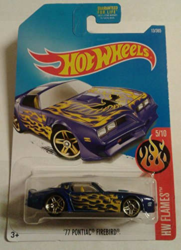 2017 Hot Wheels '77 PONTIAC FIREBIRD 13/365 HW Flames 5/10 (Hot Wheels T Hunt compare prices)