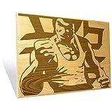 Bruce Lee Plaque Large
