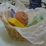 Five Piece All Natural Handmade Soap Gift Basket ~ Natural Handcrafted...
