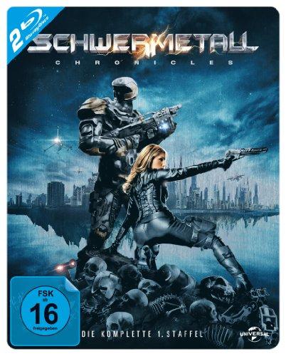 Schwermetall Chronicles - Die komplette 1. Staffel (Steelbook) [Blu-ray] [Limited Edition]