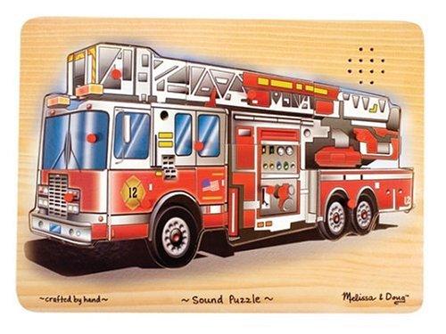 Cheap Fun Melissa & Doug Fire Truck Sound Puzzle (B0001YNLJ2)