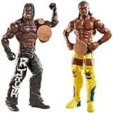 WWE Series 20 Tag Team Championships R-Truth and Kofi Kingston Figure, 2-Pack
