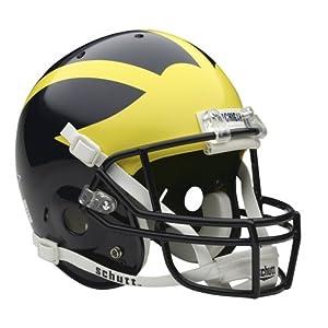 NCAA Michigan Wolverines Replica Helmet by Schutt