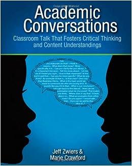 Understandings (9781571108845): Jeff Zwiers, Marie Crawford: Books