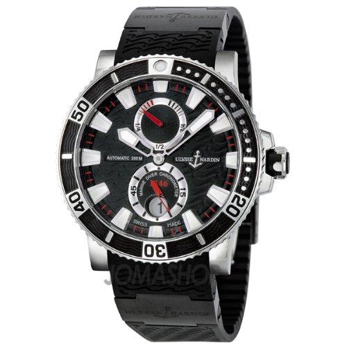 Ulysse Nardin Maxi Marine Automatic Titanium Mens Watch 263-90-3C-72