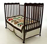 Dream On Me Classic 2 in 1 Convertible Stationary Side Crib, Espresso