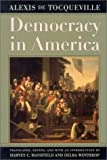 Democracy in America (0226805328) by Alexis de Tocqueville