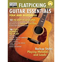 Flatpicking Guitar Essentials: Folk and Bluegrass (Acoustic Guitar Magazine Private Lessons) [Import] available at Amazon for Rs.3415.23