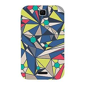 Garmor Designer Mobile Skin Sticker For Panasonic T11 - Mobile Sticker