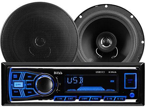 Boss Audio Systems 636CK 6.5-Inch Two-Way Receiver and Speaker