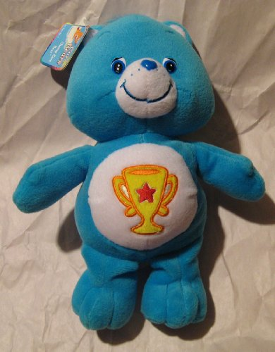 Care Bears Champ Bear 10In Plush Doll front-1003045