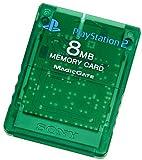 Playstation 2 専用メモリーカード(8MB)エメラルド