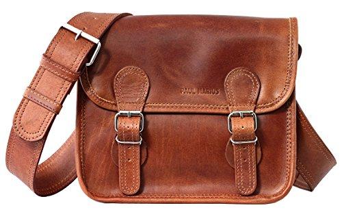 La Borsa a tracolla (S), borsa pelle vintage, la borsa a mano, borsa a tracolla, PAUL MARIUS, Vintage & Retro